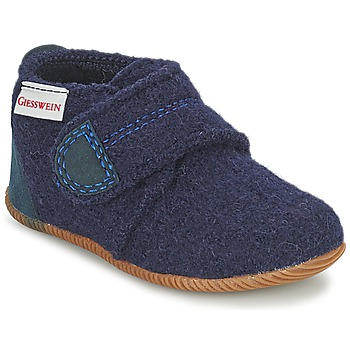 Shoes Boy Slippers Giesswein OBERSTAUFEN Blue
