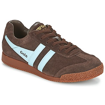 Shoes Low top trainers Gola HARRIER Brown / Blue
