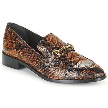 Shoes Women Loafers JB Martin AMICALE Brown