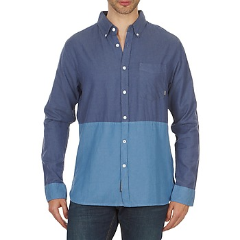 material Men long-sleeved shirts Element BRENTWOOD Blue