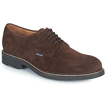 Shoes Men Derby shoes Pellet Nautilus Brown