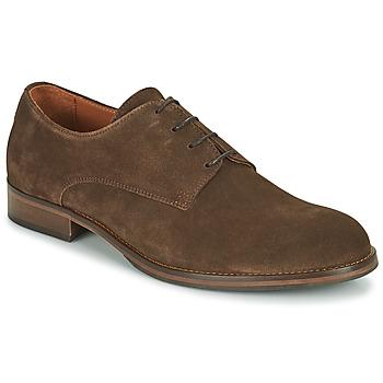 Shoes Men Derby shoes Pellet ADRIEN Brown