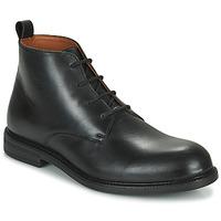 Shoes Men Mid boots Pellet BAPTISTE Black