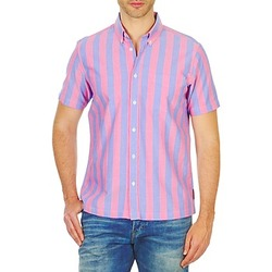 material Men short-sleeved shirts Ben Sherman BEMA00487S Pink / Blue