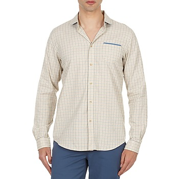 material Men long-sleeved shirts Ben Sherman BEMA00509 BEIGE
