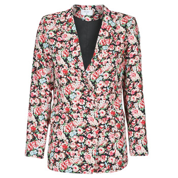 material Women Jackets / Blazers Betty London OBIMBA Black / Pink