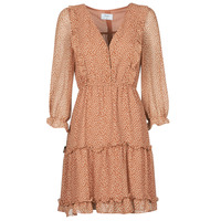 material Women Short Dresses Betty London OBELLA Rust