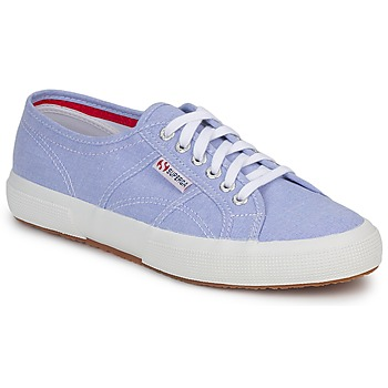 Shoes Low top trainers Superga 2750 COTUSHIRT Blue / Clear