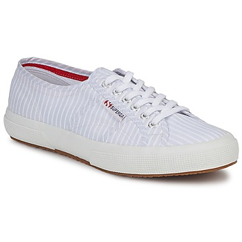 Shoes Low top trainers Superga 2750 COTUSHIRT White / Blue