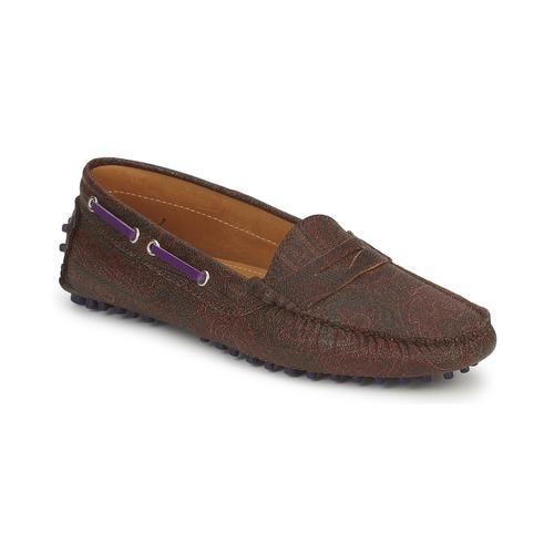 Shoes Women Loafers Etro MOCASSIN 3706 Violet