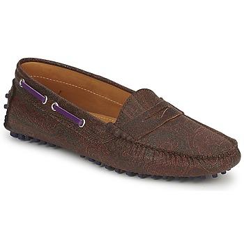 Smart-shoes Etro MOCASSIN 3706 Violet 350x350