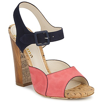 Shoes Women Sandals John Galliano AN3571 Pink / Marine
