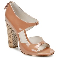 Shoes Women Sandals John Galliano AN6364 Pink / Beige