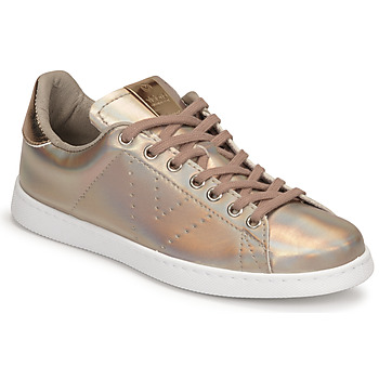 Shoes Women Low top trainers Victoria TRIBU Gold