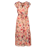 material Women Long Dresses Moony Mood  Pink / Multicolour