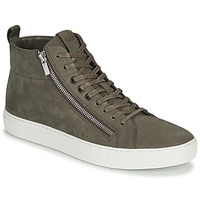 Shoes Men High top trainers HUGO Futurism_Hito_nuzp1 Taupe