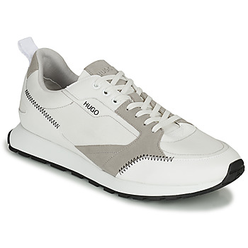 Shoes Men Low top trainers HUGO ICELIN RUN White