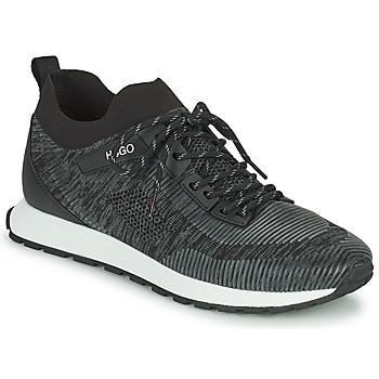 Shoes Men Low top trainers HUGO ICELIN RUNN Black