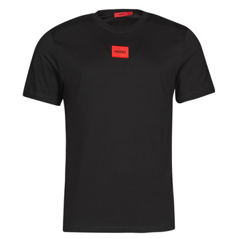 material Men short-sleeved t-shirts HUGO DIRAGOLINO Black / Red