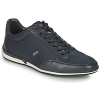 Shoes Men Low top trainers BOSS SATURN LOWP NYST Marine