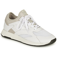Shoes Men Low top trainers BOSS TITANIUM RUNN Ecru