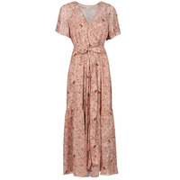 material Women Long Dresses Betty London OTSANA Pink