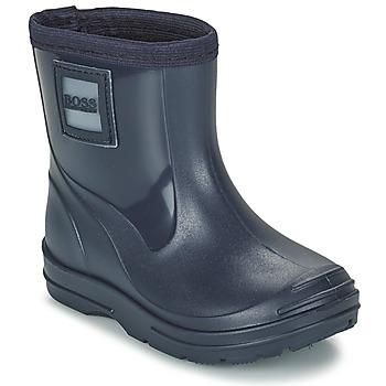 Shoes Boy Wellington boots BOSS MELODY Marine