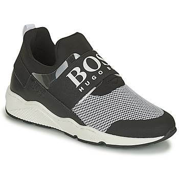 Shoes Low top trainers BOSS NATINA Black / White