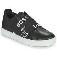 Shoes Children Low top trainers BOSS KAMILA Black / White