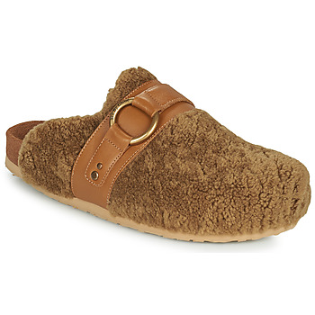 Shoes Women Mules See by Chloé GEMA Camel
