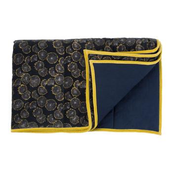 Home Blankets, throws Jardin d'Ulysse OWARI Blue / Marine