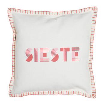 Home Cushions Jardin d'Ulysse ARIDETE Red