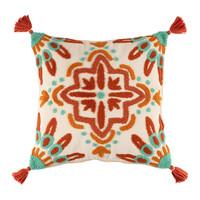 Home Cushions covers Jardin d'Ulysse SPLENDEUR White