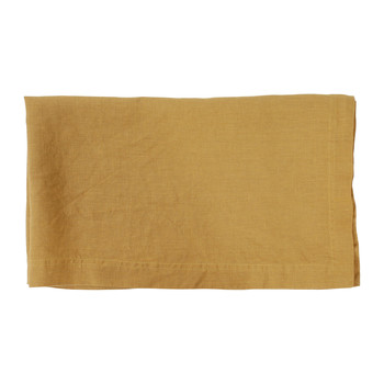 Home Napkin, table cloth, place mats Côté Table BASIC Yellow / Curry