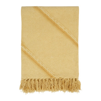 Home Blankets, throws Côté Table JANDIANE Mustard