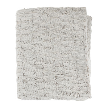 Home Blankets, throws Sema FIMBRIA Grey / Pearl