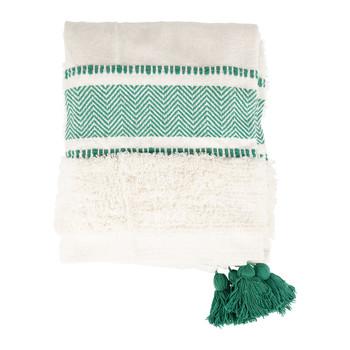 Home Blankets, throws Sema LENA Blue / Emerald
