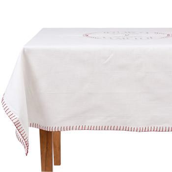 Home Napkin, table cloth, place mats Comptoir de famille NAPPE CARRÉE White