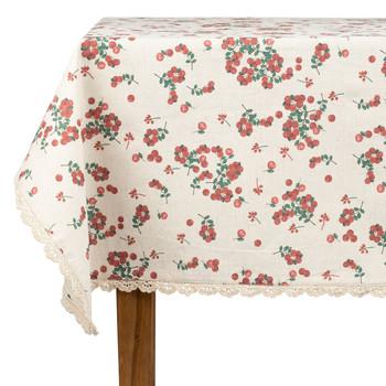 Home Napkin, table cloth, place mats Comptoir de famille GROSEILLE White