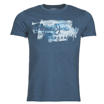 material Men short-sleeved t-shirts Pepe jeans GOLDERS Blue