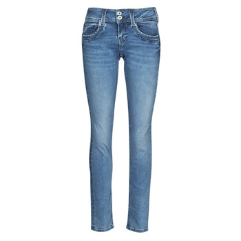 material Women straight jeans Pepe jeans GEN Blue