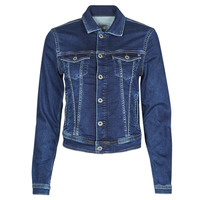 material Women Denim jackets Pepe jeans CORE JACKET Blue