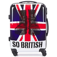 Bags Hard Suitcases David Jones UNION JACK 53L Multicoloured