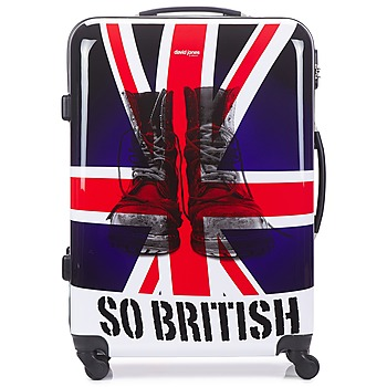 Bags Hard Suitcases David Jones UNION JACK 83L Multicoloured