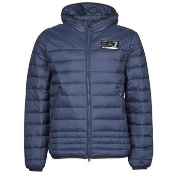 material Men Duffel coats Emporio Armani EA7 MOUNTAIN M DOWN Blue