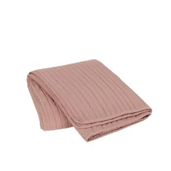 Home Blankets, throws Broste Copenhagen SENA Pink / Powder