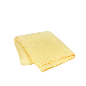 Home Blankets, throws Broste Copenhagen SENA Yellow