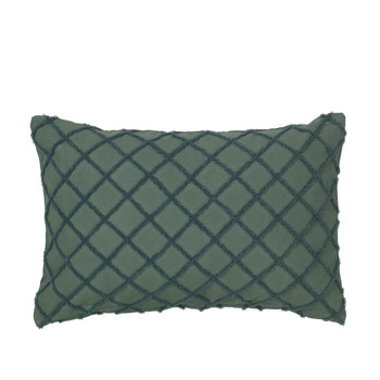 Home Cushions covers Broste Copenhagen MAGNE Emerald