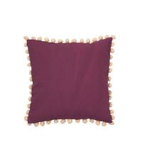 Home Cushions covers Broste Copenhagen POM Bordeaux
