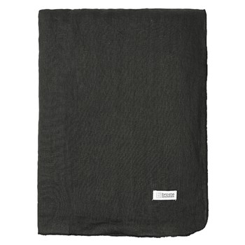 Home Napkin, table cloth, place mats Broste Copenhagen GRACIE Black